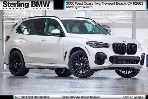 New 2021 BMW X5 xDrive40i AWD 4D Sport Utility