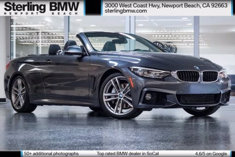 Certified Pre-Owned 2018 BMW 4 Series 440i RWD 2D Convertible