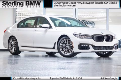 Certified Pre-Owned 2017 BMW 7 Series 740i RWD 4D Sedan