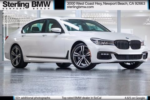 Certified Pre-Owned 2018 BMW 7 Series 740i RWD 4D Sedan