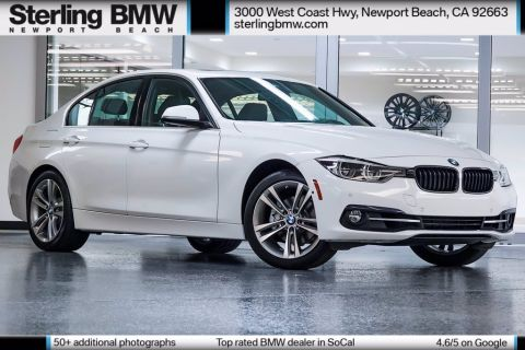 Certified Pre-Owned 2017 BMW 3 Series 330i RWD 4D Sedan