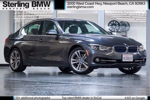 Certified Pre-Owned 2018 BMW 3 Series 330e iPerformance RWD 4D Sedan