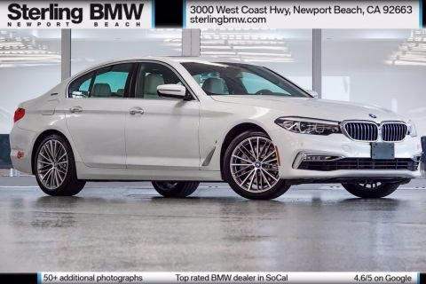 Certified Pre-Owned 2018 BMW 5 Series 530e iPerformance RWD 4D Sedan
