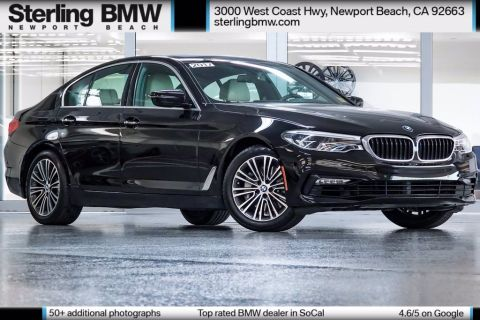 Certified Pre-Owned 2017 BMW 5 Series 540i RWD 4D Sedan